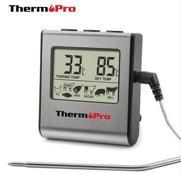 Термометр для гриля, духовки. для готовки мяса и горячих блюд. в Бишкек