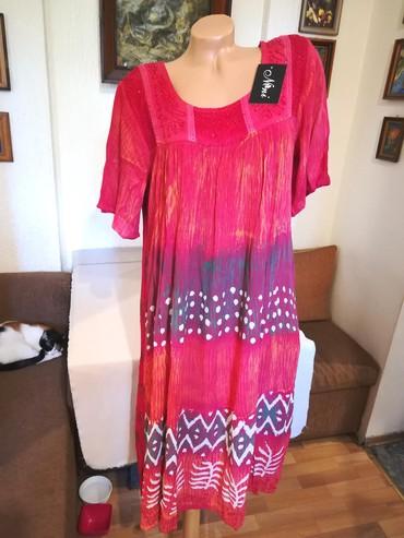 201 oglasa: Nova zenska indijska haljina za punije Nini. Indijska. Odlicna