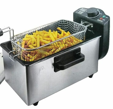 kartof - Azərbaycan: Kartof fri aparati3 litr tutumlu termostatli modelrestoran kafe ev