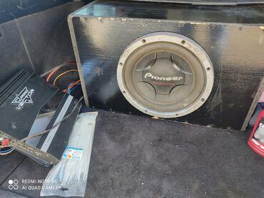 Саб буфер с усилителям Пионер 1200ват Вестор усилок оригинал США 2