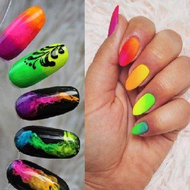 Personalni proizvodi | Zajecar: Ombre neon pigment za nokte 1g  Cena za komad 100din
