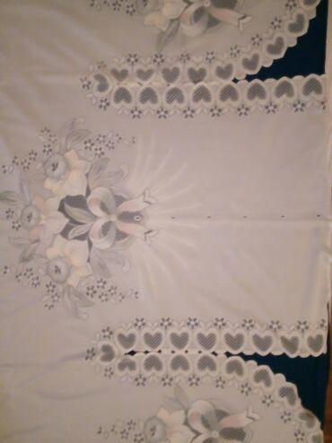 Tekstil - Srbija: Predivna zavesa za kuhinjumeni na zalost ne odgovara.Ima nezno plave