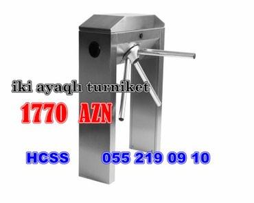 Bakı şəhərində İKİAYAQLI  turniket türkiyə isehsalı