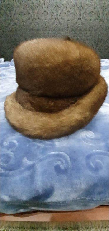 Головной-убор-норковые - Кыргызстан: Шапка норковая натуралка. размер 52- 54 см. в очень хорошем состоянии