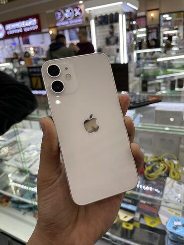 айфон 12 цена ош in Кыргызстан | ЗАРЯДНЫЕ УСТРОЙСТВА: IPhone 12 mini | 128 ГБ | Белый Б/У | Гарантия