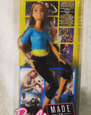 Barbie made to move yeni karobkada mağazada 79 manatdı