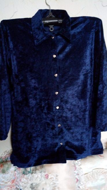 Nova teget bluzica od plisa..obim grudi..do 120,duz..68cm. - Kraljevo