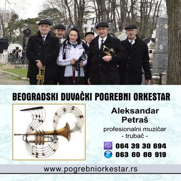 Muzika za sahrane trubači pogrebni orkestar SrbijaBeogradski duvački