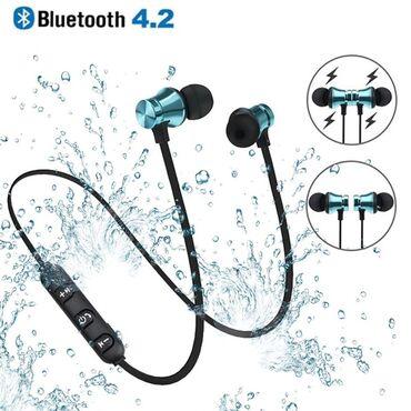 Elektronika - Pozega: Bluetooth slušalice, sa magnetima, Bežične Bluetooth 4.2 slušalice  S