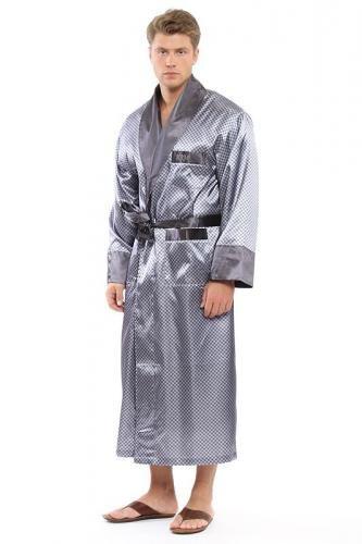 Домашние костюмы - Кыргызстан: Новый шелковый халат мужской( производство италия), размер 54-56, на