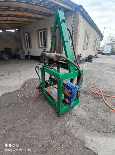 Гильотина для производства рваных песко блоков, гидравлический в