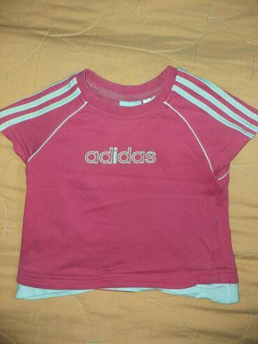 Majica za devojcice, velicina 98 Original adidas