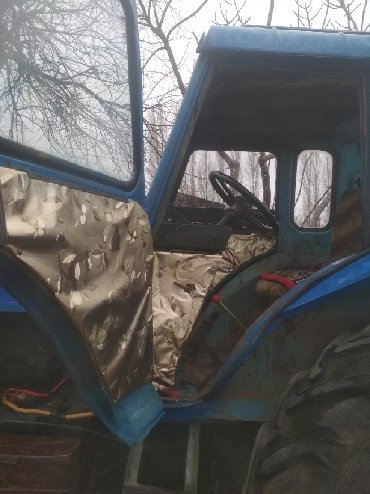 Traktor Tovuzdadır hər şeyi saz vəziyyətdədir heç bir problemi yoxdur