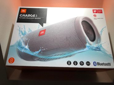 JBL Charge 3 Portable Bluetooth Wireless Waterproof Speaker 20W Good σε Alexandroupoli