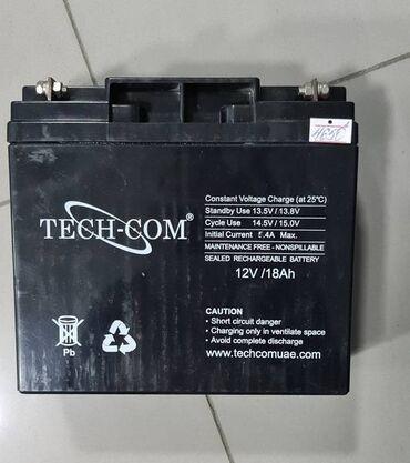 Аккумуляторная батарея для ИБП TECH-COM 12V - 18AhИБП - это источник