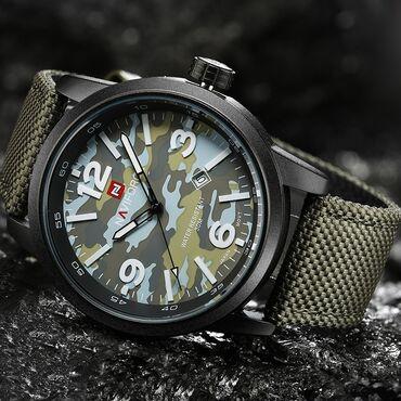 Хаки Мужские Наручные часы NaviForce