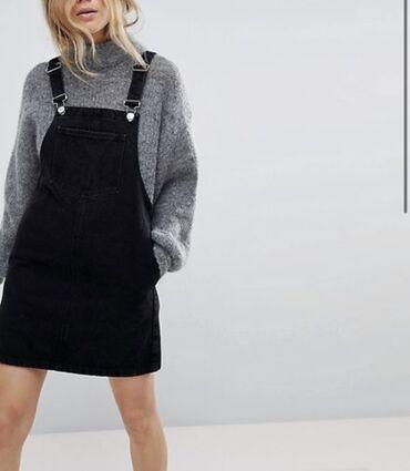 Черное платье сарафанОригинал от фирмы SheinНовое.Размер s-m .Длина