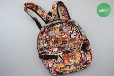 10000 объявлений | ЛИЧНЫЕ ВЕЩИ: Дитячий рюкзак з принтом   Довжина: 38 см Ширина: 33 см  Стан гарний