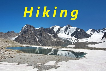 Adygene lakes and glacier - One day Hiking в Бишкек