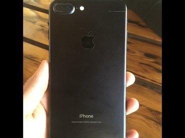 ‼️‼️‼️СРОЧНАЯ ЦЕНА‼️‼️‼️ Продаётся айфон цвет:чёрный матовый  7+ 128 в Бишкек