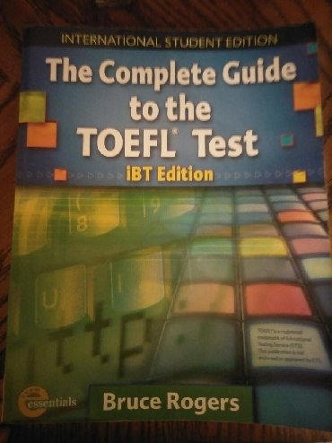 TOEFL IBT Bruce Rogers. Almost new