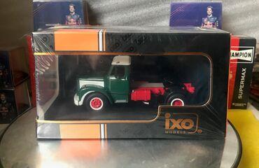 go green roto 43 - Azərbaycan: Коллекционная модель  Scania 110 Super Tractor Truck green 1963  IXO M