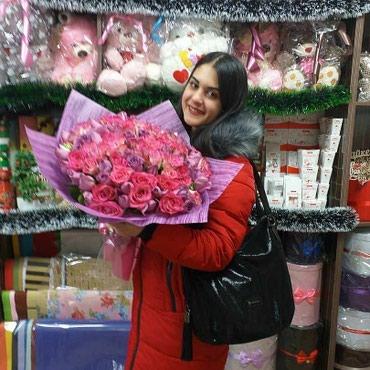 Нежные тона безупречных роз порадует в Бишкек