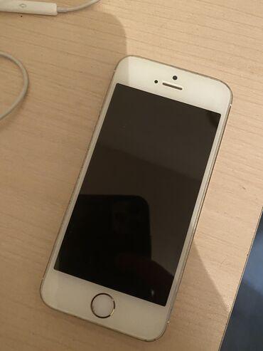 Электроника в Нахичевань: İphone 5s 16 gb gold. Batarekası dəyişilməlidi 20 azn xərci var. Ciddi