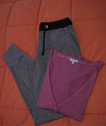 Παντελόνι φούτερ και ζακέτα, σε Kamatero