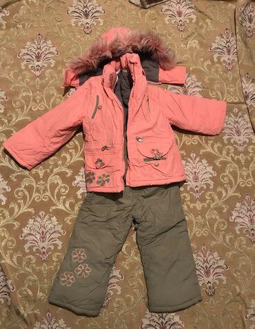 Зимний комплект для деток 1-3 года. Качественный зимний комплект. Всё