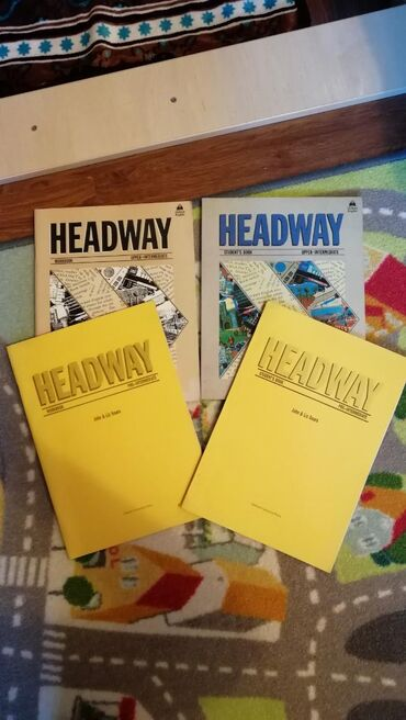 журналы на английском в Кыргызстан: Полный комплект (две книги и две рабочие тетради), Headway
