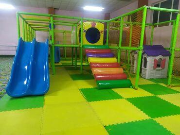 Детский мир - Таш-Мойнок: Детская площадка, батут, кухонное оборудование в хорошем состоянии