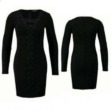 Платье со шнурками. Новое от бренда из Голландии. Размер 36-38