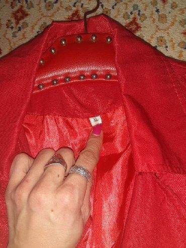 Ostalo | Valjevo: Crveni mantil na prodaju. kao nov. Velicina xl,nisam nosila