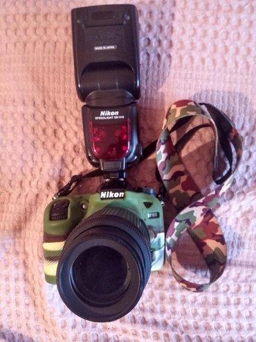 Sumqayıt şəhərində Nikon D7100 Body, Nikkor 55-200mm Obyektiv və Nikon SB-910.Aparat