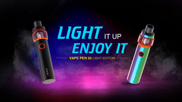 Smok Vape Pen 22 Light Edition - elektron qəlyan.Batareya tutumu