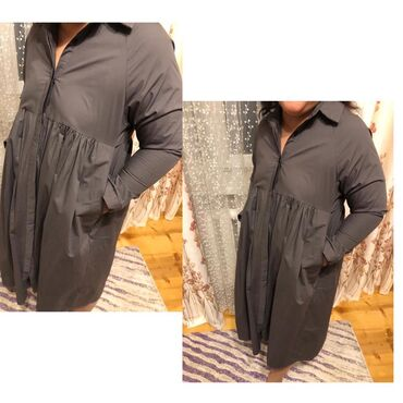 Платье рубашка  отличного качестваносили один раз. Уступлю