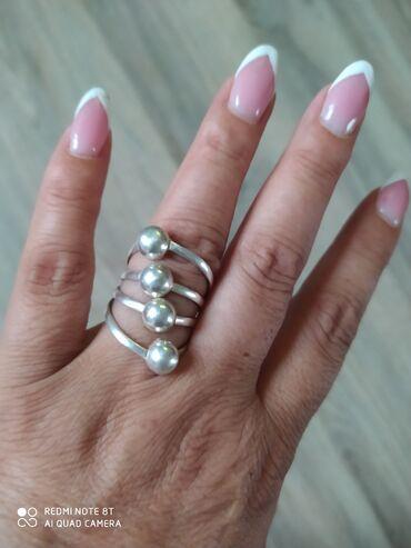Кольцо серебро,размер 19- новый