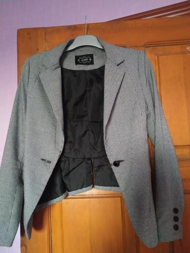 Пиджак Sammy в отличном качестве (узор гусиные лапки) размер xs