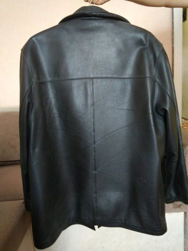 Мужская зимняя кожаная куртка 56 размер и такая же 58-60размер в Бишкек
