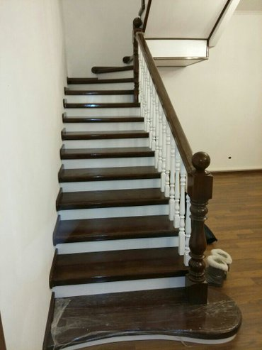 лестницы двери на заказ из массива в Бишкек