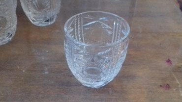 Другая посуда - Кыргызстан: Хрустальные рюмки, СССР. В отличном состоянии.6 шт=1000 прошу Писать в
