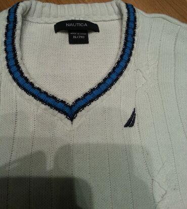 Farke original - Srbija: Nautica original pulover - prsluk za decake.Sjajan da se nosi preko
