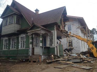 Демонтаж домов, зданий и сооружений в Бишкек
