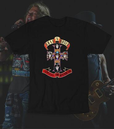 Mnml majica hit - Srbija: Guns N Roses majica, 100% pamuk