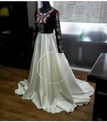 наволочки из атласа в Кыргызстан: Шикарное платье, надевала 1 раз на узатуу. Ткань королевский атлас