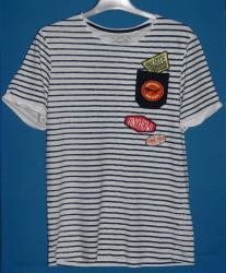 Majica-decija - Srbija: C&A majica decija, 158/164 velicina, pamucna. Mornarska