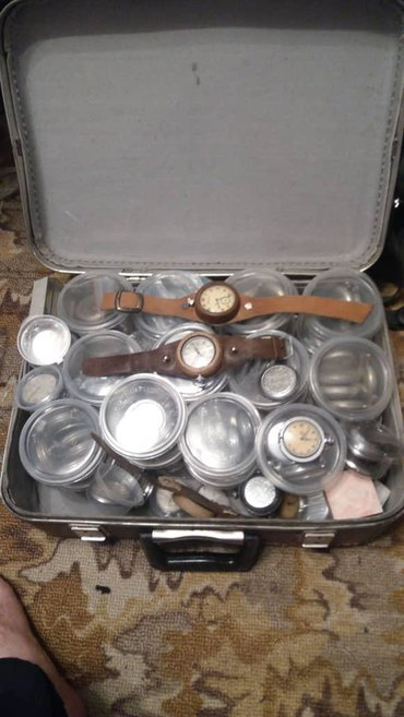 Антикварные часы - Кыргызстан: Куплю старинные часы СССР Швейцария, Япония для коллекции