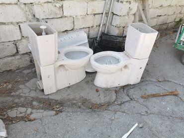 Vannalar, cakuzi - Azərbaycan: 20 azn unitazlar satılır. Yüngül temir lazımdır