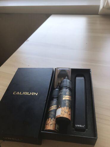 Вейп, электронная сигарета caliburnСостояние хорошое с коробкой